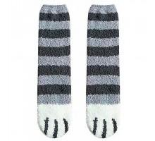 Носки Кошачьи лапки cерые