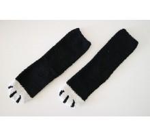 Носки Кошачьи лапки черные