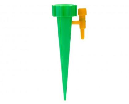 Насадка с регулятором расхода воды на бутылку для автоматического полива